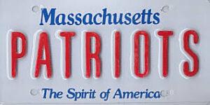 Massachusetts plate